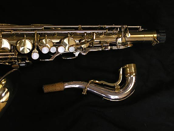 King Silver-Sonic Gold Inlay Super 20 Tenor - 385231 - Photo # 3