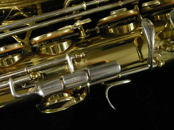 King Lacquer-Sterling Neck Super 20 Tenor - 433254 - Photo # 14