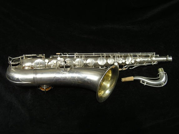 C.G. Conn Silver Plate New Wonder Tenor - 144667 - Photo # 1