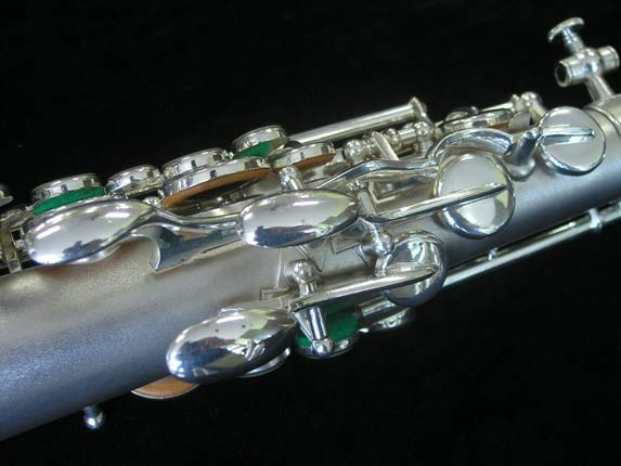 Buescher Silver Plate New Aristocrat Alto - 263859 - Photo # 8