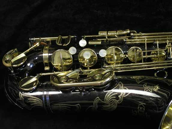 Keilwerth Black Nickel SX-90R Tenor- 102812 - Photo # 2