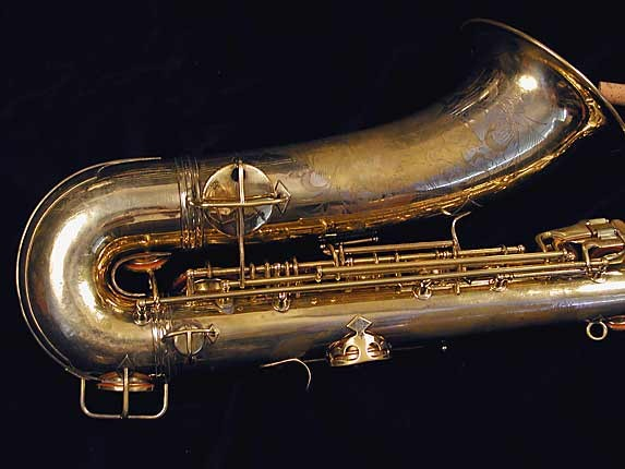 "Conn ""Portrait"" Gold Plate ""Baby"" Tenor - 208283 - Photo # 5"