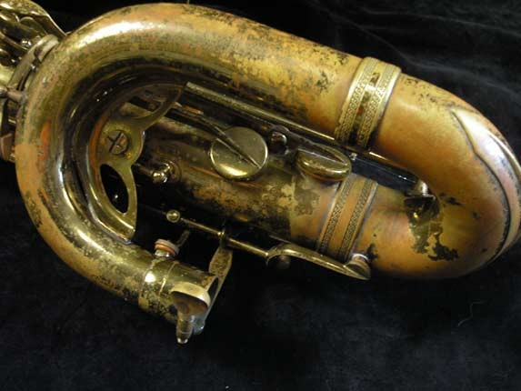 "Selmer Lacquer Mark VI ""Low A"" Baritone - 81129 - Photo # 10"