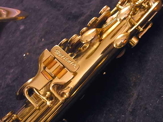 "Buescher Lacquer Aristocrat ""Big B"" Tenor - 305859 - Photo # 8"