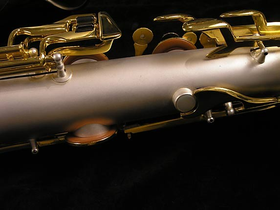 King Custom Silver & Gold Plate Zephyr Baritone - 179421 - Photo # 13
