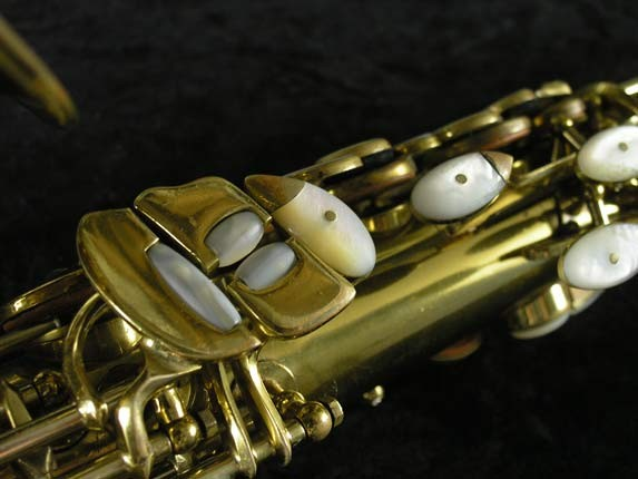 King Lacquer-Sterling Neck Super 20 Alto - 303393 - Photo # 8
