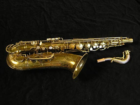 King Lacquer-Sterling Neck Super 20 Tenor - 303251 - Photo # 1
