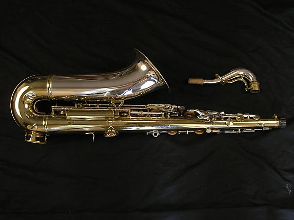 King Silver-Sonic Gold Inlay Super 20 Tenor - 385231 - Photo # 4