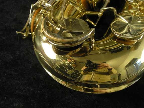 King Lacquer-Sterling Neck Super 20 Tenor - 433254 - Photo # 15