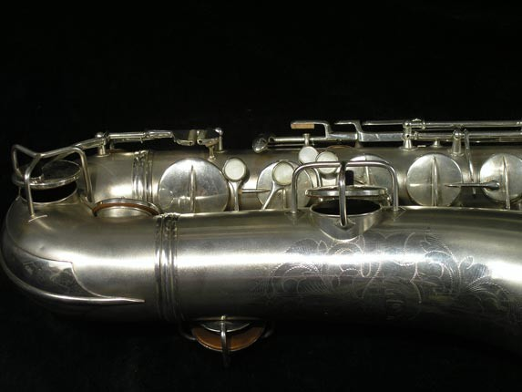 C.G. Conn Silver Plate New Wonder Tenor - 144667 - Photo # 2
