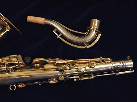 "Conn ""Portrait"" Gold Plate ""Baby"" Tenor - 208283 - Photo # 6"