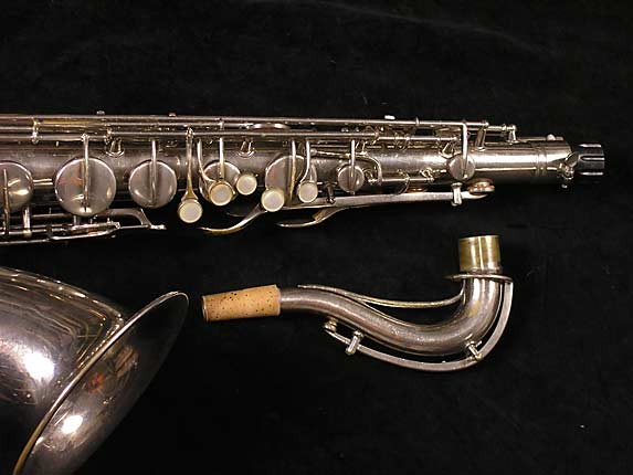 Conn Nickel Plate Chu Berry Tenor - 192220 - Photo # 4