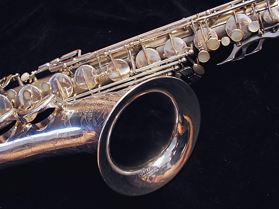 Selmer Matte Silver Super Balanced Action Tenor - 38812 - Photo # 10