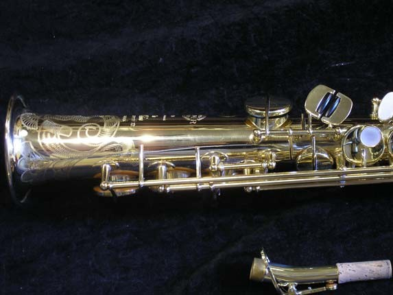 Selmer Lacquer Super Action 80 serie III Soprano - 510733 - Photo # 2