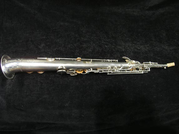 Buescher Silver Tipped Bell True Tone Soprano - 234860 - Photo # 4