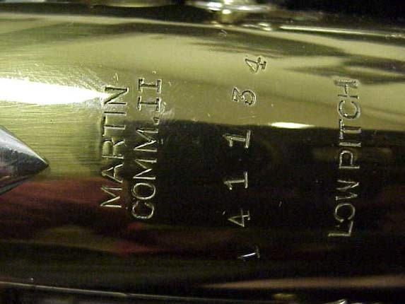 Martin Lacquer Committee II Alto - 141134 - Photo # 27