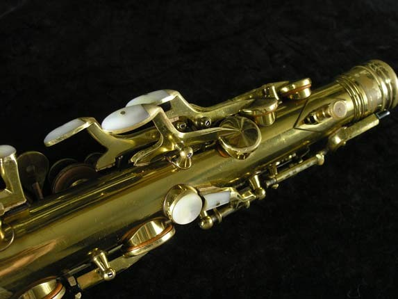 King Lacquer-Sterling Neck Super 20 Alto - 303393 - Photo # 9