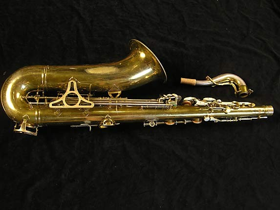 King Lacquer-Sterling Neck Super 20 Tenor - 303251 - Photo # 2