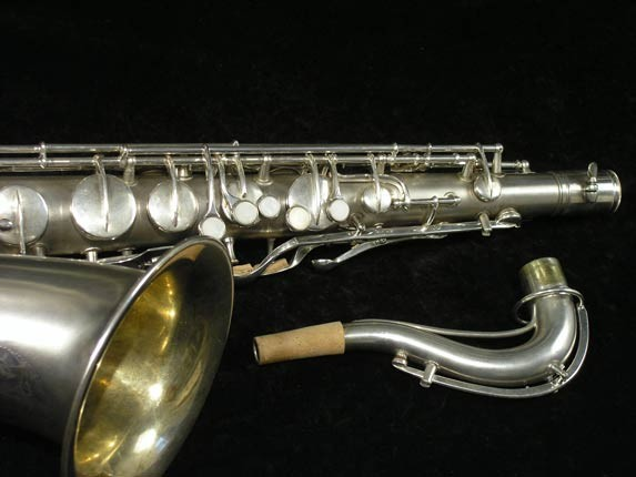 C.G. Conn Silver Plate New Wonder Tenor - 144667 - Photo # 3