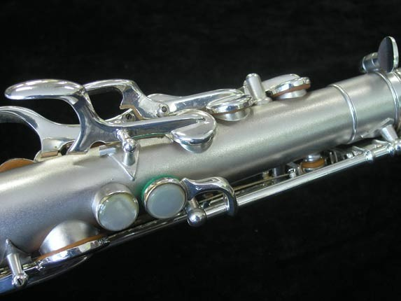 Buescher Silver Plate New Aristocrat Alto - 263859 - Photo # 10