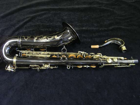 Keilwerth Black Nickel SX-90R Tenor- 102812 - Photo # 4