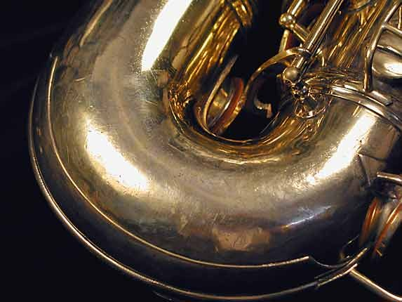 "Conn ""Portrait"" Gold Plate ""Baby"" Tenor - 208283 - Photo # 7"