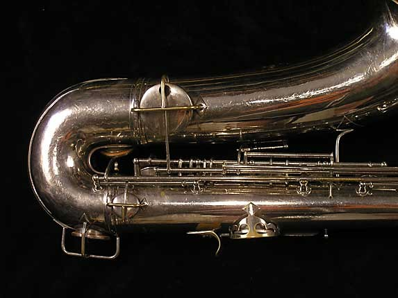 Conn Nickel Plate Chu Berry Tenor - 192220 - Photo # 5