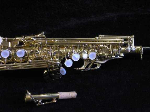 Selmer Lacquer Super Action 80 serie III Soprano - 510733 - Photo # 3