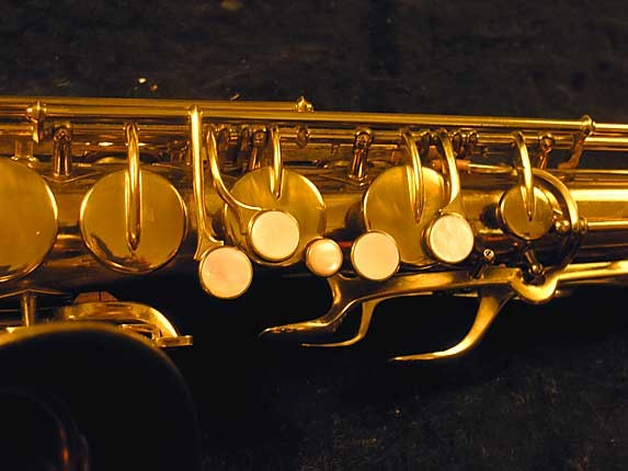 "Buescher Lacquer Aristocrat ""Big B"" Tenor - 305859 - Photo # 10"
