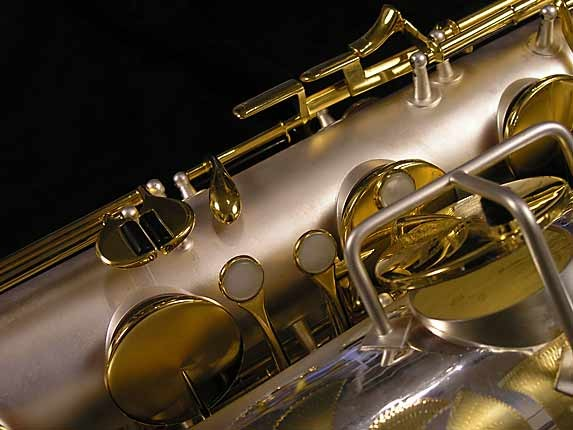 King Custom Silver & Gold Plate Zephyr Baritone - 179421 - Photo # 15