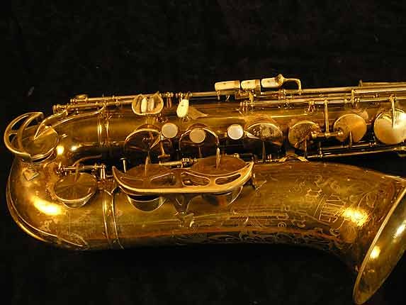 King Lacquer-Sterling Neck Super 20 Tenor - 303251 - Photo # 3