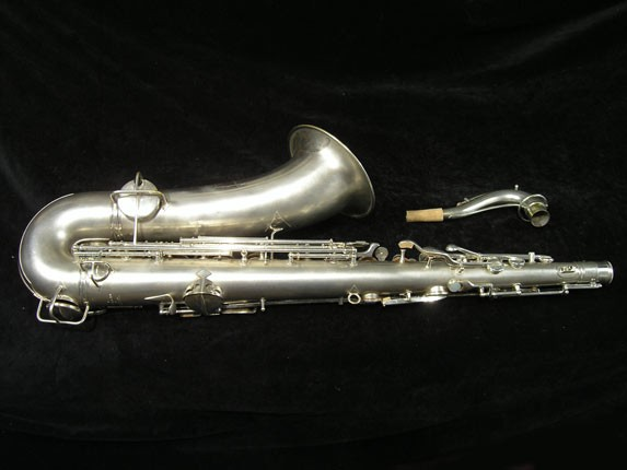 C.G. Conn Silver Plate New Wonder Tenor - 144667 - Photo # 4