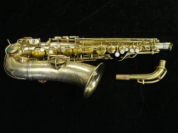 "Conn ""Portrait"" Gold Plate ""Angel"" Alto - 180010 - Photo # 1"
