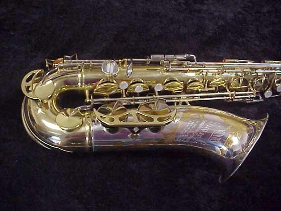 King Silver-Sonic Gold Inlay Super 20 Tenor - 532373 - Photo # 2