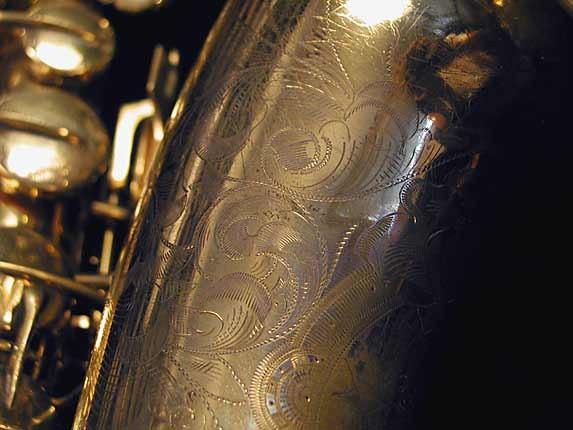 "Conn ""Portrait"" Gold Plate ""Baby"" Tenor - 208283 - Photo # 8"