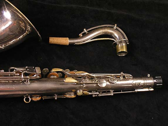 Conn Nickel Plate Chu Berry Tenor - 192220 - Photo # 6