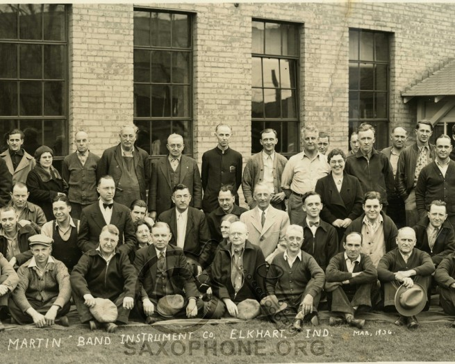 Martin Factory employees 1936