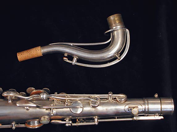 "Conn ""New Wonder"" Matte Silver Plate Tenor - 77595 - Photo # 8"