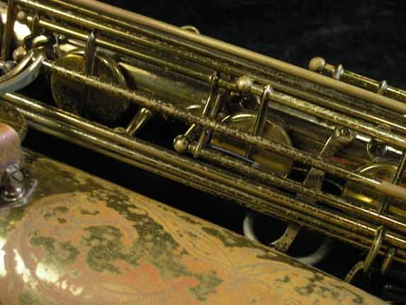 "Selmer Lacquer Mark VI ""Low A"" Baritone - 81129 - Photo # 13"