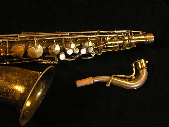 King Lacquer-Sterling Neck Super 20 Tenor - 303251 - Photo # 4