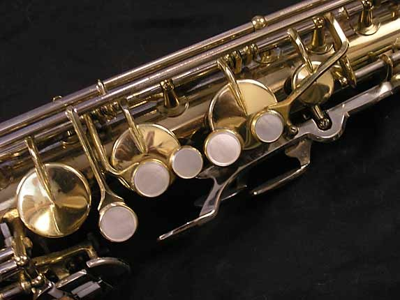 King Silver-Sonic Gold Inlay Super 20 Tenor - 385231 - Photo # 7