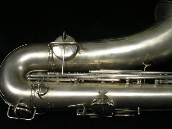 C.G. Conn Silver Plate New Wonder Tenor - 144667 - Photo # 5