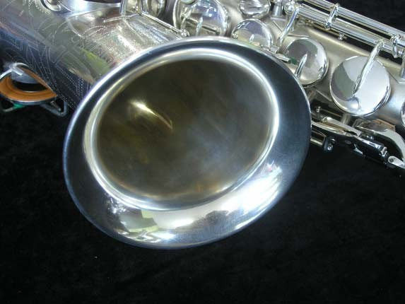 Buescher Silver Plate New Aristocrat Alto - 263859 - Photo # 12