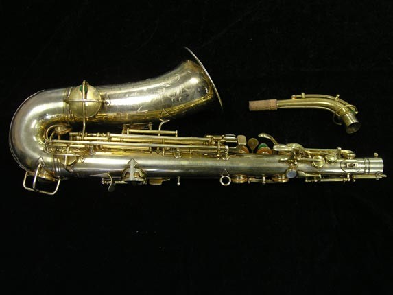 "Conn ""Portrait"" Gold Plate ""Angel"" Alto - 180010 - Photo # 2"