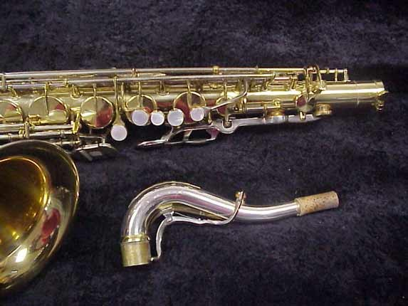 King Silver-Sonic Gold Inlay Super 20 Tenor - 532373 - Photo # 3