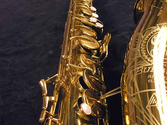"Buescher Lacquer Aristocrat ""Big B"" Tenor - 305859 - Photo # 12"