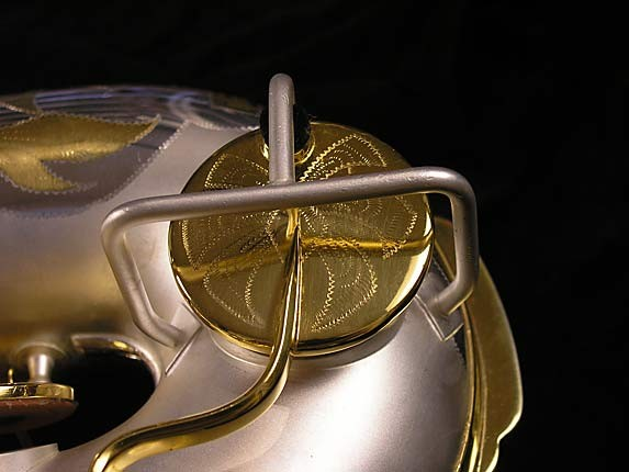 King Custom Silver & Gold Plate Zephyr Baritone - 179421 - Photo # 17