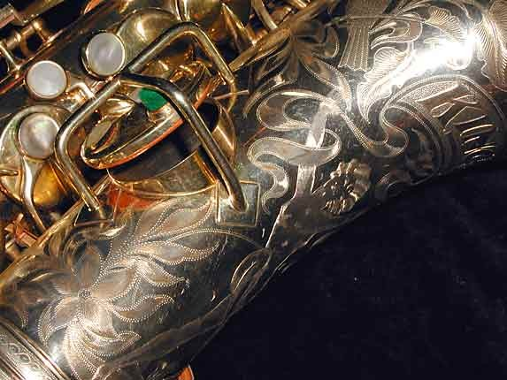 "King Gold Plate H.N. White ""Artist"" Alto - 99103 - Photo # 9"