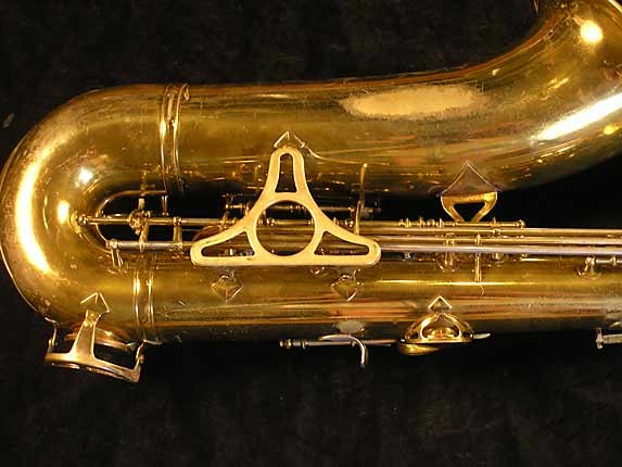 King Lacquer-Sterling Neck Super 20 Tenor - 303251 - Photo # 5