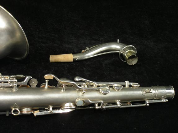 C.G. Conn Silver Plate New Wonder Tenor - 144667 - Photo # 6